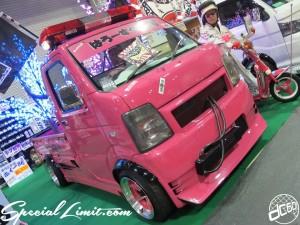 Osaka Auto Messe 2014 Car & Customize Motor Show Intex Custom K-CAR Truck HELLO SPECIAL SUZUKI CARRY Wide Body