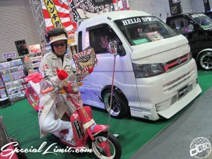 Osaka Auto Messe 2014 Car & Customize Motor Show Intex Custom K-CAR Truck HELLO SPECIAL DAIHATSU HIJET Passol