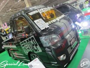 Osaka Auto Messe 2014 Car & Customize Motor Show Intex Custom K-CAR Truck OEP222 DAIHATSU Jumbo