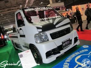 Osaka Auto Messe 2014 Car & Customize Motor Show Intex Custom K-CAR Truck OEP222 HONDA Acty