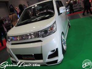 Osaka Auto Messe 2014 Car & Customize Motor Show Intex Custom K-CAR SUZUKI Wagon R STINGRAY Pregia Tissimo