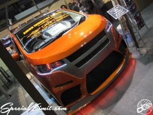 Osaka Auto Messe 2014 Car & Customize Motor Show Intex Custom K-CAR AMON INDUSTRY MITSUBISHI ek CUSTOM Body Kit