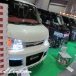 Osaka Auto Messe 2014 Car & Customize Motor Show Intex Custom K-CAR GIBSON HIACE Face