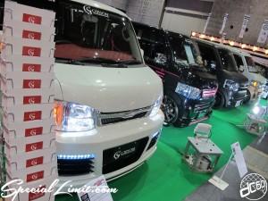 Osaka Auto Messe 2014 Car & Customize Motor Show Intex Custom K-CAR GIBSON HIACE Face