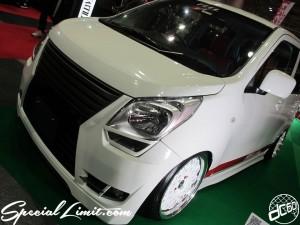 Osaka Auto Messe 2014 Car & Customize Motor Show Intex Custom K-CAR SUZUKI WAGON R FEEL Body Kit