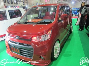 Osaka Auto Messe 2014 Car & Customize Motor Show Intex Custom K-CAR FEEL SUZUKI WAGON R STINGRAY