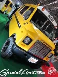 Osaka Auto Messe 2014 Car & Customize Motor Show Intex Custom K-CAR SUZUKI EVERY COOL BUS Blow