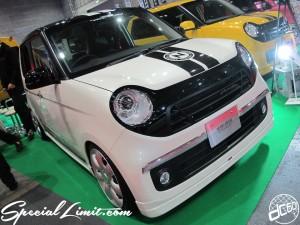 Osaka Auto Messe 2014 Car & Customize Motor Show Intex Custom K-CAR AERO OVER HONDA N-ONE Slammed