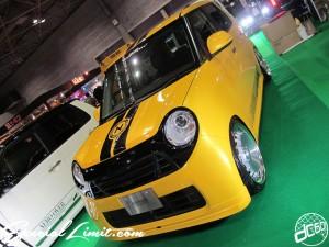 Osaka Auto Messe 2014 Car & Customize Motor Show Intex Custom K-CAR AERO OVER HONDA N-ONE CRIMSON RS CUP