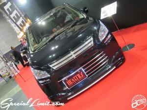 Osaka Auto Messe 2014 Car & Customize Motor Show Intex Custom K-CAR HEARTILY SUZUKI Wagon R