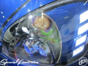 Osaka Auto Messe 2014 Car & Customize Motor Show Intex Custom K-CAR HONDA LIFE Head Light Toy Story
