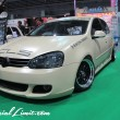 Osaka Auto Messe 2014 Car & Customize Motor Show Intex Custom CLS Racing Modify Slammed Matte Beige VW GOLF Mk.5
