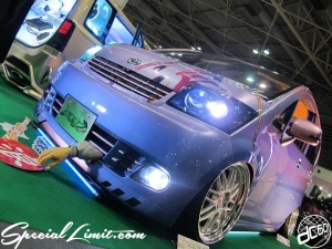 Osaka Auto Messe 2014 Car & Customize Motor Show Intex Custom DAIHATSU MOVE ROMANTEI Slammed Body Kit