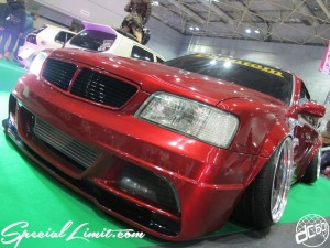 Osaka Auto Messe 2014 Car & Customize Motor Show Intex Custom LEOPARD Slammed Wide Body Phantom Stance VIP