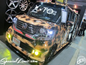 Osaka Auto Messe 2014 Car & Customize Motor Show Intex Custom Roen Treasure One HONDA N-BOX