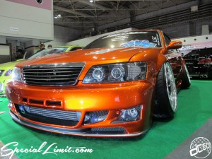 Osaka Auto Messe 2014 Car & Customize Motor Show Intex Custom CIMA Slammed Wide Body Stance VIP