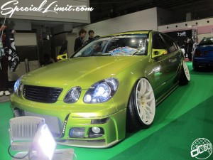 Osaka Auto Messe 2014 Car & Customize Motor Show Intex Custom LEXUS GS TOYOTA ARISTO Slammed Stance WORK VIP