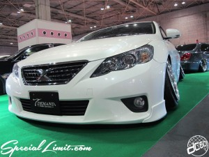 Osaka Auto Messe 2014 Car & Customize Motor Show Intex Custom TDEMAND MARK X Slammed Camber Stance VIP