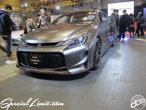 Osaka Auto Messe 2014 Car & Customize Motor Show Intex Custom TOYOTA MARK X GAZOO Racing Concept