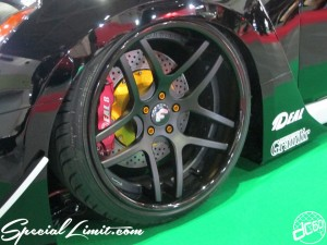 Osaka Auto Messe 2014 Car & Customize Motor Show Intex Custom FORGIATO ECL DIECI IDEAL Grandir FUGA Wide Body