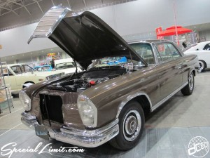 Nostalgic 2days Pacifico YOKOHAMA Oldschool Classic Car Neoclassic Trade Show 2014 VINTAGE Mercedes Benz 250SE Automatic