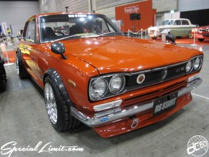 Nostalgic 2days Pacifico YOKOHAMA Oldschool Classic Car Neoclassic Trade Show 2014 VINTAGE RS START NISSAN KPGC10 Skyline GTR