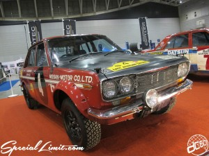 Nostalgic 2days Pacifico YOKOHAMA Oldschool Classic Car Neoclassic Trade Show 2014 VINTAGE NISSAN MOTOR Bluebird Rally