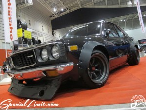 Nostalgic 2days Pacifico YOKOHAMA Oldschool Classic Car Neoclassic Trade Show 2014 VINTAGE RS Watanabe MAZDA SAVANNA RX3 RE120 AP Wide Body