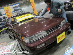 Nostalgic 2days Pacifico YOKOHAMA Oldschool Classic Car Neoclassic Trade Show 2014 VINTAGE INFINITI M30 LEOPARD