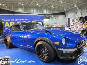 Nostalgic 2days Pacifico YOKOHAMA Oldschool Classic Car Neoclassic Trade Show 2014 VINTAGE STAR ROAD S30 Fairlady Z