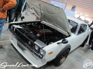 Nostalgic 2days Pacifico YOKOHAMA Oldschool Classic Car Neoclassic Trade Show 2014 VINTAGE Rocky Auto Skyline GTR Ken-Mery RB25 Engine