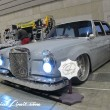Nostalgic 2days Pacifico YOKOHAMA Oldschool Classic Car Neoclassic Trade Show 2014 VINTAGE Cool4ever Mercedes Benz S Audio Custom Rockford Fosgate DENON DCT-1