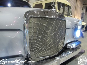Nostalgic 2days Pacifico YOKOHAMA Oldschool Classic Car Neoclassic Trade Show 2014 VINTAGE Cool4ever Mercedes Benz S Audio Custom Rockford Fosgate