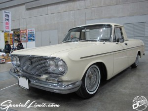 Nostalgic 2days Pacifico YOKOHAMA Oldschool Classic Car Neoclassic Trade Show 2014 VINTAGE MOONEYES 1964 Toyota Masterline Pick Up!!
