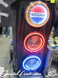 Nostalgic 2days Pacifico YOKOHAMA Oldschool Classic Car Neoclassic Trade Show 2014 VINTAGE Neon Sign Clock