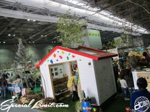 Osaka Outdoor Festival 2014 Intex Camp Tent BBQ GAKUYA VW BUS Goods
