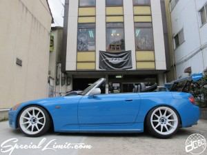 REBEL Blue S2K Slammed HONDA S2000 XXR 527 Apple Matte Silver ORIGIN Labo. GT Wing Custom Project Second Season Will Start USDM