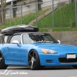 HONDA S2000 S2K REBEL Blue Jet-Bag THULE Cargo Box ORIGIN Labo GT-Wing MUGEN dc601 MEGAN Apple Silver Slammed Stance USDM Special Limit FORGIATO MONO Leggera Spacco FORGED 20""