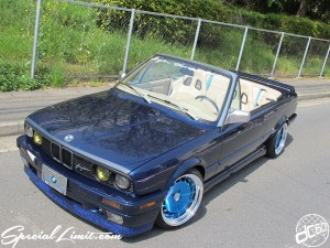 Breyton BMW E30 320i Cabrio Spyder Cabriolet CAMEI Eye-Line Full Body Kit Exhaust RS☆R One-off Best☆i CRIMSON RS CUP STANCE Wheels ENCORE Interior Custom Black Hella Slammed Repaint Restore SPARCO Seat BUDNIK Billet Steering Audio Boston Acoustics Be-With μDiMENSiON IMAGE DYNAMICS Mauritiusblau metallic Chrome paint Pinstriping Sign dc601 Special Limit