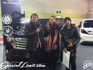 Osaka Auto Messe 2014 Car & Customize Motor Show Intex Campaign Girl Custom Show ERINA ELFORD Tatto dc601