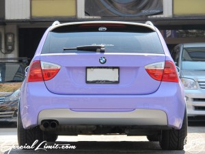 BMW E91 325i Touring Purple Magic dc601 Demo Car TWS EXlete 105S 118F RS☆R Best☆i Ignition Motor Groupe Licence Plate Relocate M-Sports Matte Apple Silver af imp. Special Limit