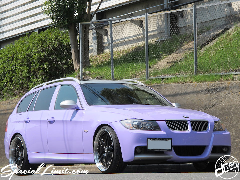 Purple Magic BMW E91 Touring on TWS Wheels !!