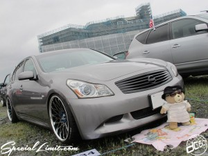 2014 X-5 Fukuoka CROSS FIVE MONSTER ENERGY XTREME SUPER SHOW Custom USDM NISSAN G37 Skyline CRIMSON RS WIRE