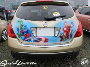 2014 X-5 Fukuoka CROSS FIVE MONSTER ENERGY XTREME SUPER SHOW Custom USDM NISSAN MURANO Air Brush