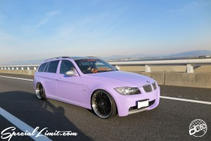 CUSTOM PARTY Vol.6 Port Messe Nagoya LEROY EVENT Pole Dance ICE KURO dc601 BMW E91 Touring Purple Magic TWS