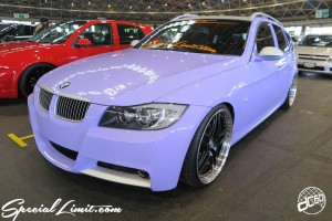 CUSTOM PARTY Vol.6 Port Messe Nagoya LEROY EVENT Pole Dance ICE KURO dc601 Purple Magic BMW E91 Touring