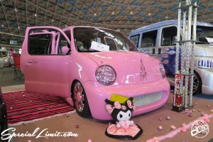 CUSTOM PARTY Vol.6 Port Messe Nagoya LEROY EVENT HOT PINK DAIHATSU MOVE Latte