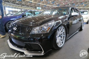CUSTOM PARTY Vol.6 Port Messe Nagoya LEROY EVENT NISSAN Skyline G37 Sedan