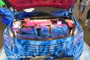 CUSTOM PARTY Vol.6 Port Messe Nagoya LEROY EVENT TOYOTA PRIUS Airbrush