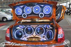 CUSTOM PARTY Vol.6 Port Messe Nagoya LEROY EVENT CHRYSLER 300C Audio Rockford Fosgate